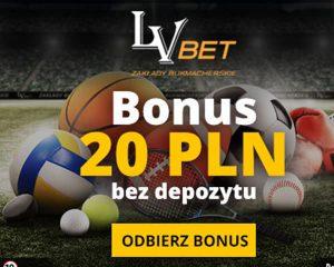 LVBET bonus bez depozytu
