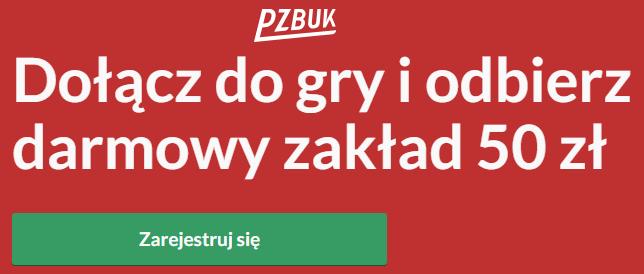 Darmowy zakład 50 PLN