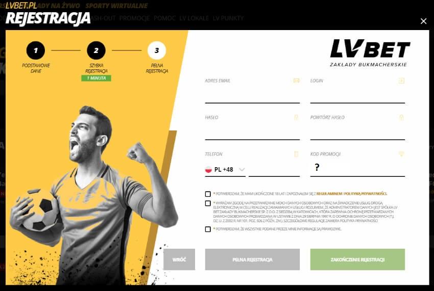 Kod promocyjny LVBET FAME MMA